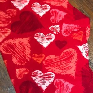 NEW LuLaRoe One Size Heart Leggings